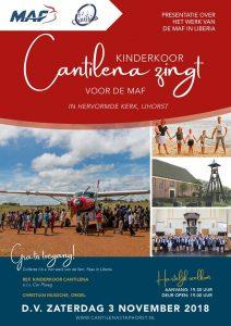 Kinderkoor Cantilena zingt voor MAF @ Hervormde Kerk IJhorst | IJhorst | Overijssel | Nederland